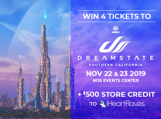 Dreamstate Ticket Giveaway