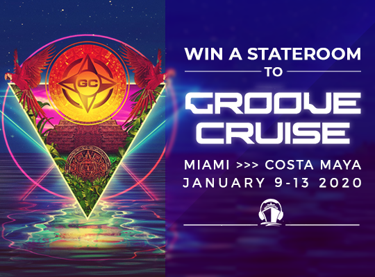 Groove Cruise Miami 2020 Stateroom Cabin Giveaway