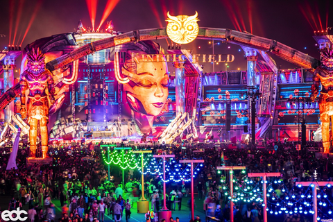 EDCLV Kinetic Field at Night