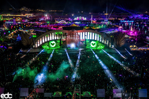 EDC Mainstage at Night