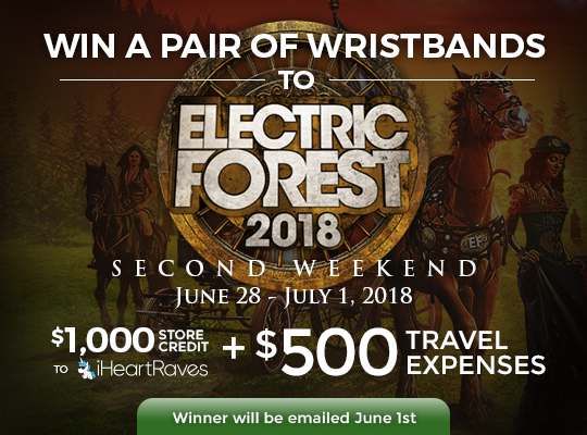 Electric Forest Second Weekend Giveaway