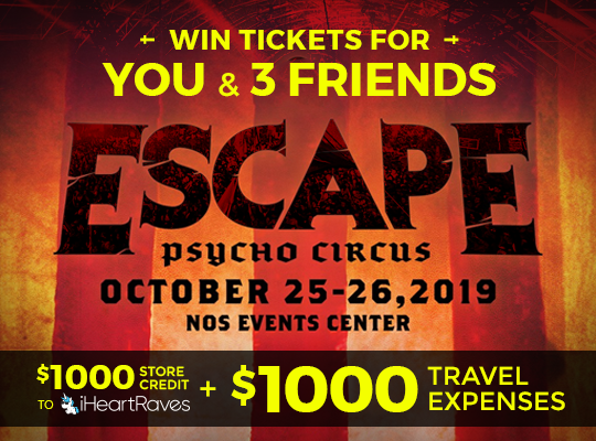 Win tickets to Escape Pyscho Circus 2019