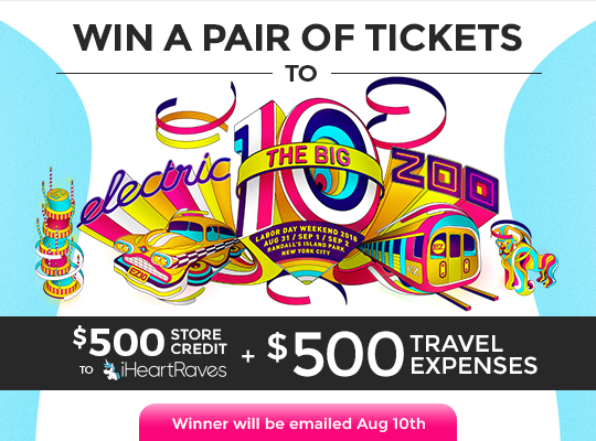 Electric Zoo Ticket Giveaway 2018