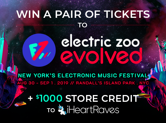 Electric Zoo Ticket Giveaway 2019