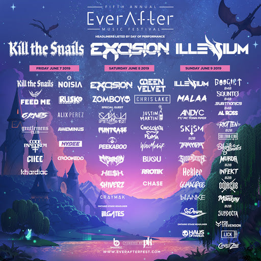 Ever After 2019 Lineup