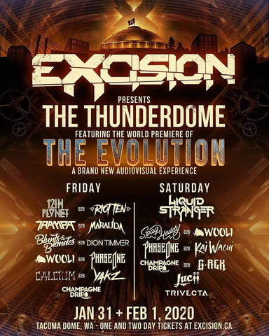 Excision Thunderdome Lineup