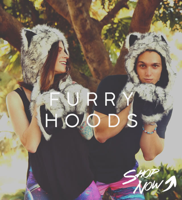 Furry Animal Hoods