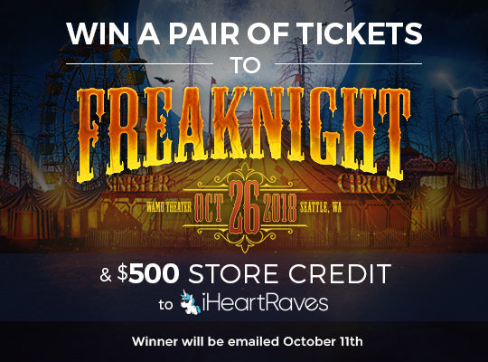 Win tickets to Freaknight and a $500 giftcard to iHeartRaves