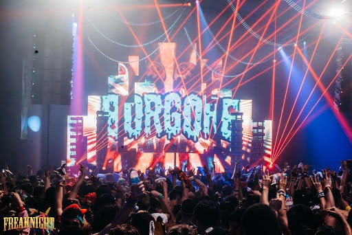 Borgore at Freaknight Music Festival in Seattle