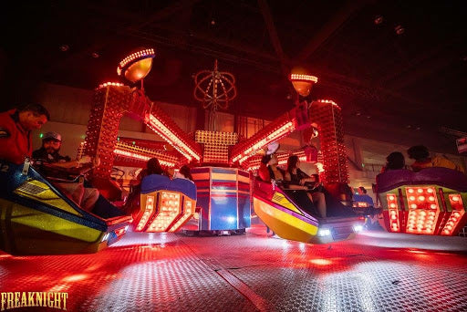 Rides at Freaknight Festival at the Wamu Theater in Seattle
