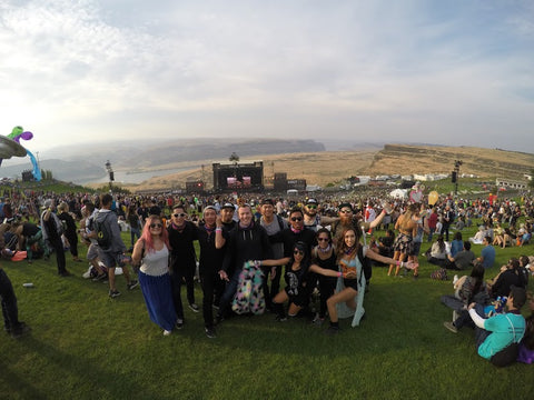 Squad at ABGT at the Gorge