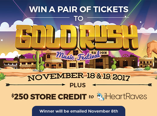 Goldrush Festival Ticket Giveaway