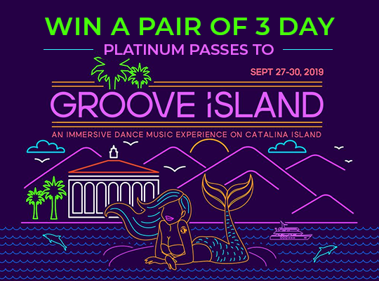 Groove Island Ticket Giveaway 2019
