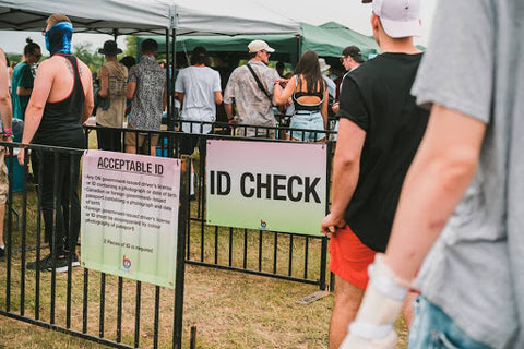 ID Check at Ever After Festival