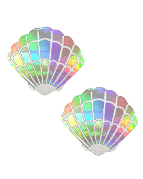 Holographic Rainbow Shell Pasties