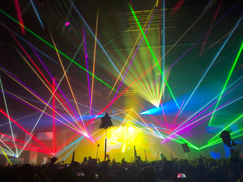 Lazers during Griz at Hijinx Festival