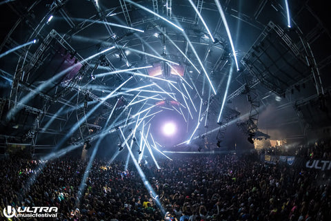 Megastructure at Ultra Music Festival