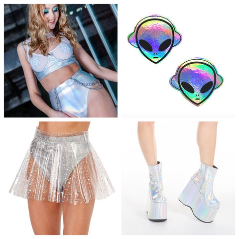 New Year's Eve Rave Outfit
