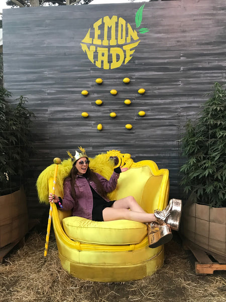 Outside Lands Lemonade Photo Opp