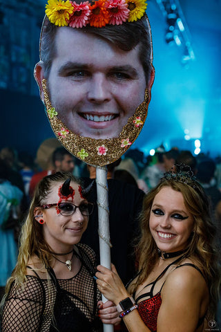 Ravers with Totem at Freaknight