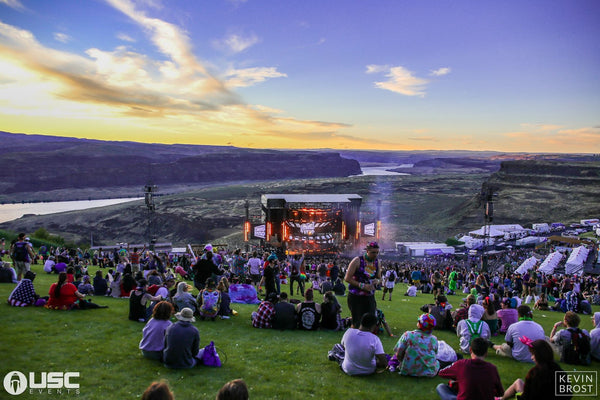 Paradiso at Sunset at the Gorge
