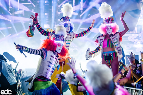 Performers at EDC Las Vegas