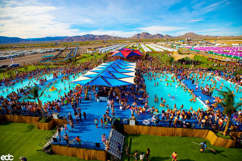 Pool at Camp EDC Las Vegas