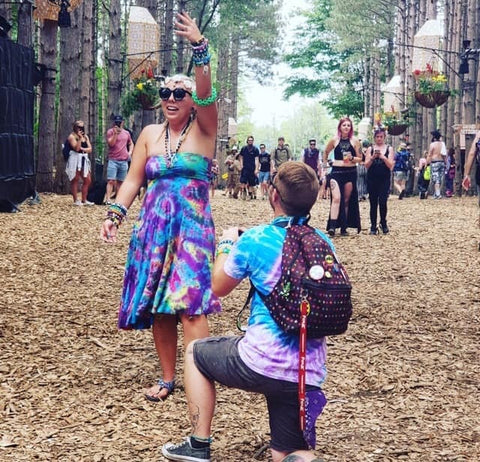 Proposal at Electric Forest