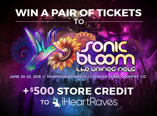Sonic Bloom Ticket Giveaway