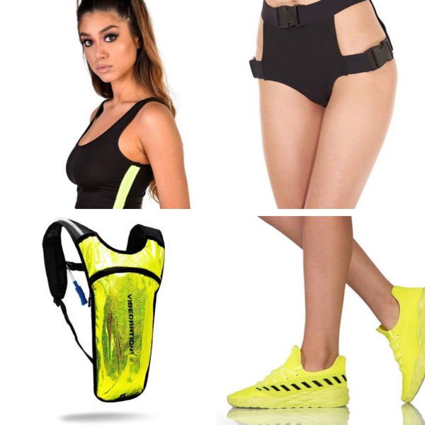 Sporty Spice Neon Outfit