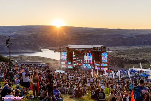 Sunset At Paradiso at the Gorge