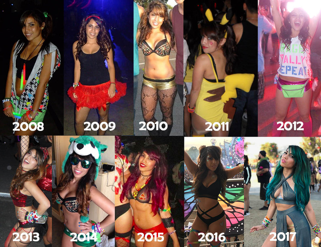 Tiny Dancer's Evolution of Rave fashion over the last decade