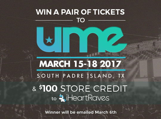 UME tickets giveaway