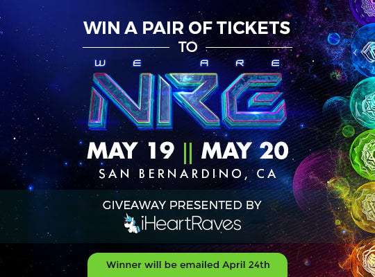 NRG music festival ticket giveaway hosted by iheartraves