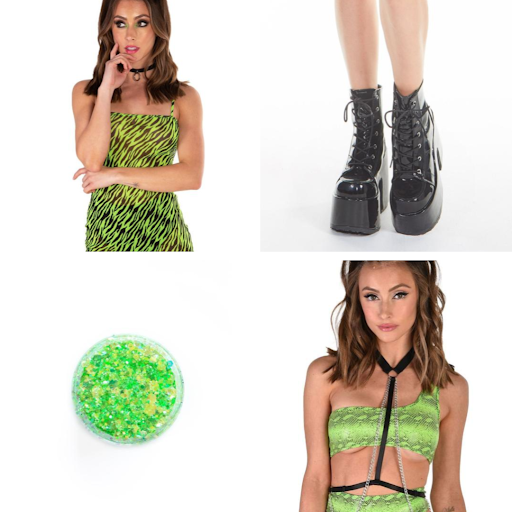 Wildside Neon Outfit