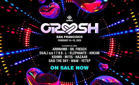 Crush San Francisco Lineup 2020