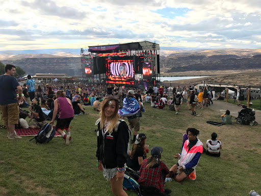 Main Stage at the Gorge During Bass Canyon