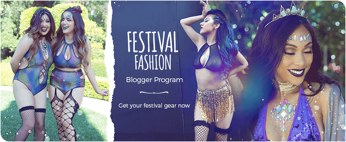 iHeartRaves Festival Fashion Blogger Program