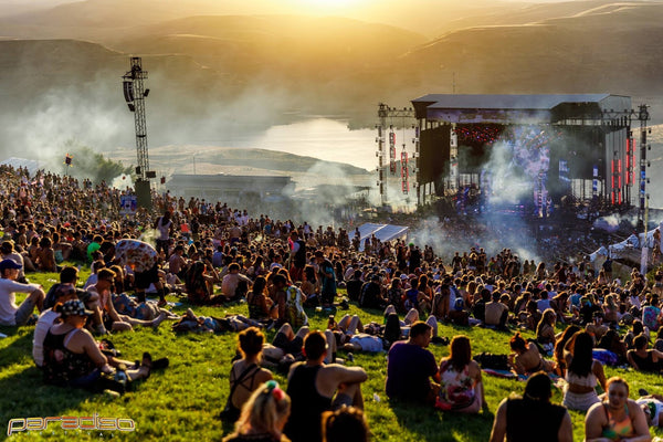 Daytime during Paradiso at the Gorge Amphitheater