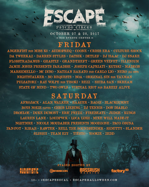 Escape Psycho Circus 2017 Tickets Giveaway - iHeartRaves