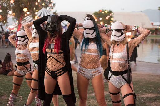 Star Wars Inspired Rave Outfits