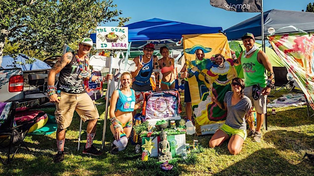food and drinks to bring to a camping festival