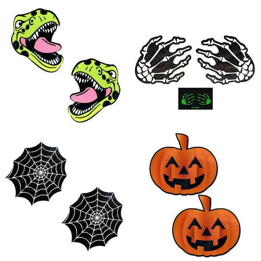 Halloween themed pasties