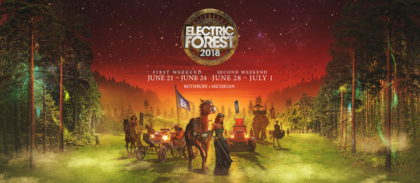 electric forest enchanted forest logo