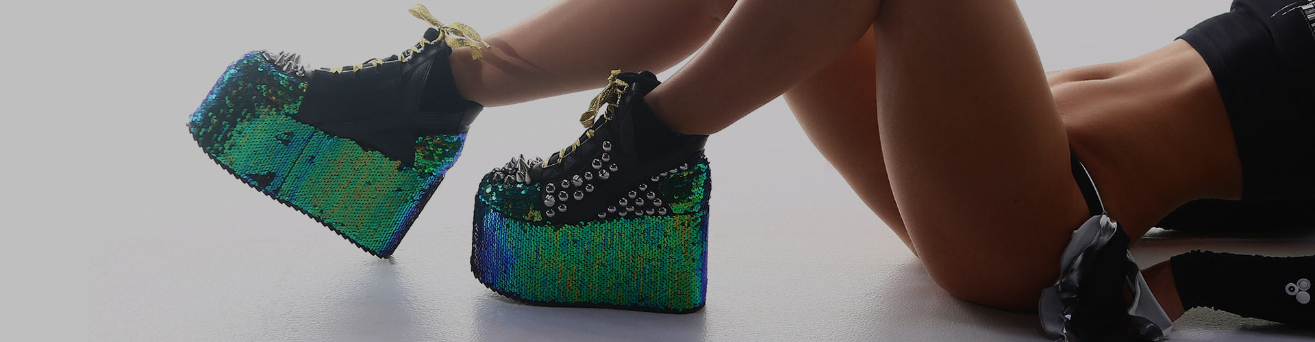 rave shoes for women