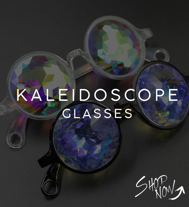 kaleidoscope glasses rave