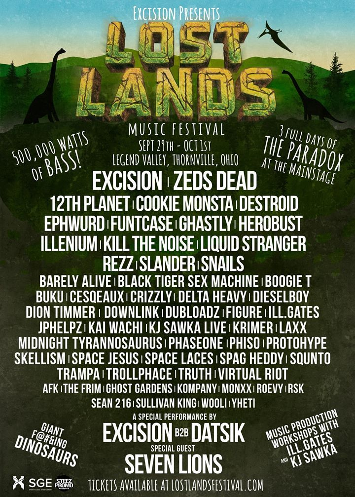 Lost Land festival line up