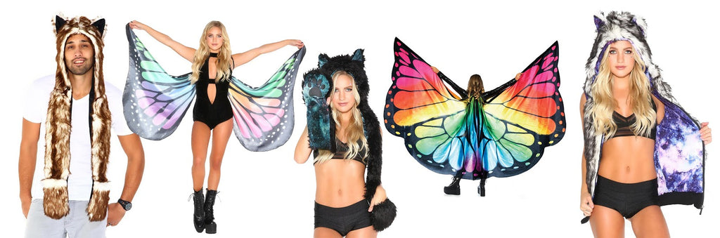 Nocturnal Wonderland Animal Themed Outfits