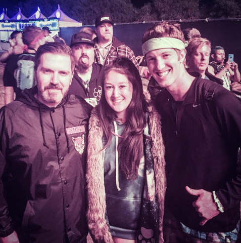 fan meeting Pasquale Rotella at Nocturnal Wonderland