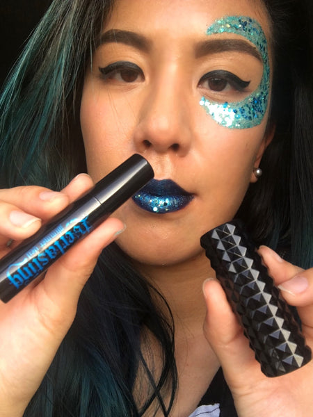 Blue Moon Lunautics Chunky Face Glitter Festival Makeup Tutorial